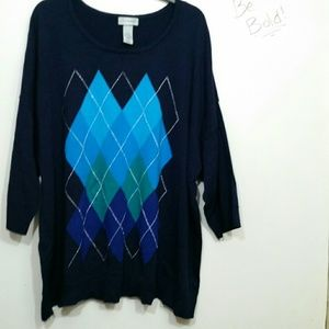 Catherines Plus Size 3x (26/28W) sweater used